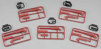 Trumpeter Zimmerit Application Tool Set (5) Plastic Model Aircraft Accessory #9916