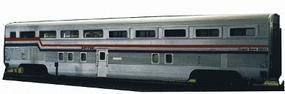 Train-Station Budd Hi-Level Coach Dorm Kit (Undecorated) HO Scale Model Railroad Train #818