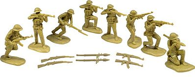 ToySoldiers 1/32 North Vietnamese Army Playset (16)