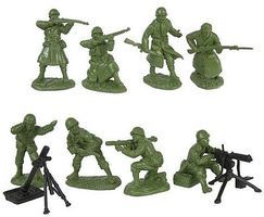 ToySoldiers 1/32 WWII US Infantry Fire Support Figure Playset (16)