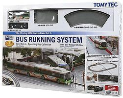 Tomy Operating Bus System Starter Set (Set A) N Scale Model Railroad Road Accessory #228233