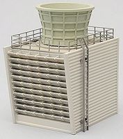 Tomy United Oil Co. Cooling Tower (B) Kit N Scale Model Railroad Accessory #229131