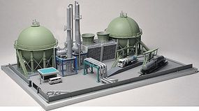 Tomy United Oil Co. Complete Refinery Complex Kit N Scale Model Railroad Building #229322
