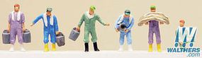 Tomy Farmers Set A N Scale Model Railroad Figure #234951