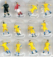 Tomy Soccer Team A (Yellow) N Scale Model Railroad Figure #255055