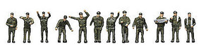 Tomy Self Defense Personnel N Scale Model Railroad Figure #257653