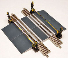 Tomy Railroad Crossing D w/o Track N Scale Model Railroad Accessory #258667