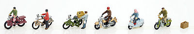 Tomy Bicycles & Mopeds - N-Scale