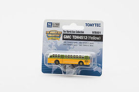 Tomy GMC TDH 4512 Bus (UnPowered) N Scale Model Railroad Vehicle #264330