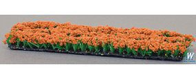 Tomy Orange Plants & Flowers Model Railroad Grass Earth #265566