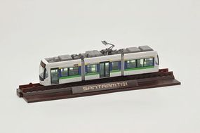Tomy Santram LRT Streetcar (Unpowered Kit) Toyama, Japan N Scale Model Railroad #272663