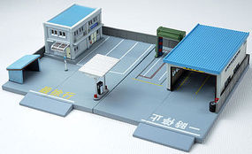 Tomy Midtown Ticket Counter Kit N Scale Model Railroad Building #273653