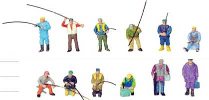 Tomy The People 128 Fisherman