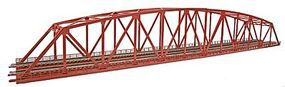 Tomy Curved Chord Through Truss Bridge w/2 Piers (Fine Double Track) N Scale Model Railroad #3221