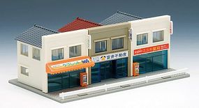 Tomy Street Shops Kit (3) N Scale Model Railroad Building #4008