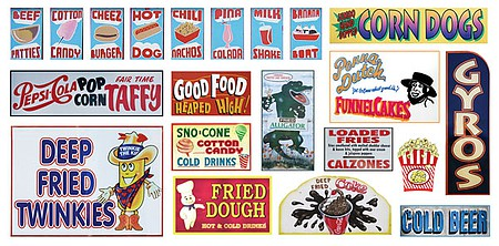 T2-Decals Carnival Signs #003