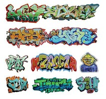 T2-Decals Graffiti #1 O-Scale
