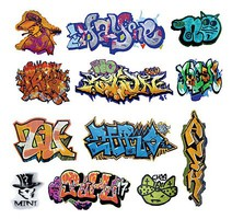 T2-Decals Graffiti #2 O-Scale