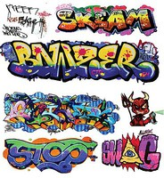 T2-Decals Graffiti #11 O-Scale