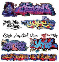 T2-Decals Graffiti #14 O-Scale