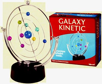 Toysmith Galaxy Kinectic Revolving Planetary Orbits Motion Kit