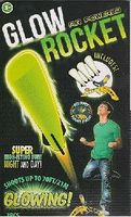 Toysmith Air Powered Glow-in-the-Dark Rockets (3) with Stomp Launch Pad Flying Toy #1524