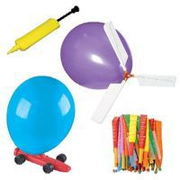 Toysmith Balloon Powered Vehicle Set