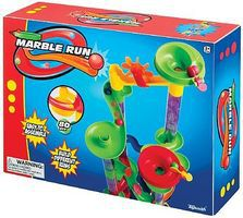 Toysmith Marble Run Playset (80pcs) Marble Set #4645