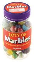 Toysmith Marbles in Plastic Jar (approx.80) Marble Set #5925