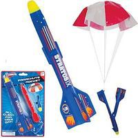 Toysmith Parachute Rocket 8-1/2 (Cd) Flying Toy #6157