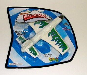 Toysmith Foam X-Stream Rubber Band Launch Plane (5'' Span) -- Flying Toy -- #74500