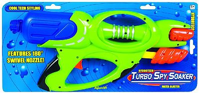 Toysmith Hydrotech Turbo Spy Soaker Water Gun -- Water Toy -- #8230