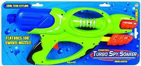 Toysmith Hydrotech Turbo Spy Soaker Water Gun Water Toy #8230
