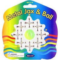Toysmith Metal Jax & Ball Set Novelty Toy #9467