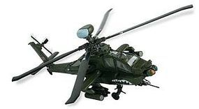 Unimax AH-64D APACHE LONGBOW Pre-Built Diecast Model Helicopter 1/48 scale #75008