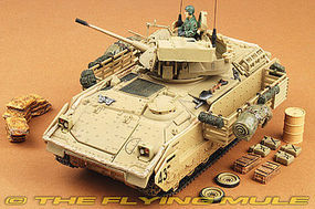 Unimax Forces of Valor US M3A2 Bradley Baghdad 2003 Diecast Military Model Vehicle 1/32 #80091