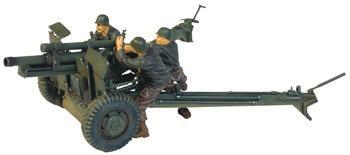 Unimax 1/32 US 105 Howitzer & 3 Man Crew