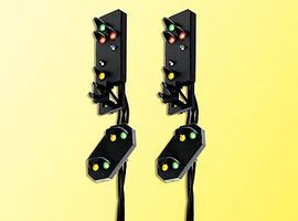 Viessmann Daylight Signal Heads HO-Scale