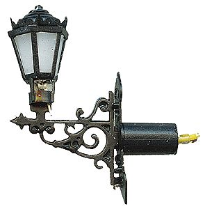 Viessmann Wall Lamp HO Scale Model Railroad Street Light #6074