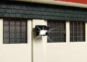 Viessmann Wall Mount Floodlight with LEDs HO Scale Model Railroad Street Light #6333