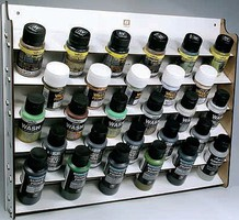 Vallejo Wall Mounted Module Paint Display (Holds 28 Bottles)