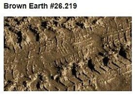 Vallejo Brown Earth Effect (200ml Bottle) Model Railroad Mold Accessory #26219