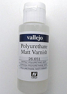 Vallejo MATTE VARNISH POLYURETHANE Hobby and Model Paint Supply #26651