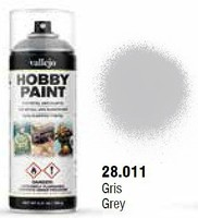 Vallejo Basic Grey Primer Spray