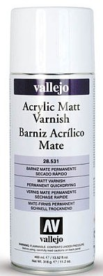 Vallejo Matt Varnish Spray 400ml