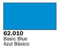 Vallejo Basic Blue Premium (60ml Bottle) Hobby and Model Acrylic Paint #62010