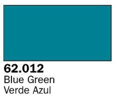 Vallejo Blue Green Premium (60ml Bottle) Hobby and Model Acrylic Paint #62012