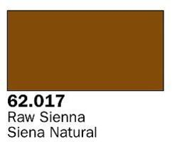 Vallejo Raw Sienna Premium (60ml Bottle) Hobby and Model Acrylic Paint #62017