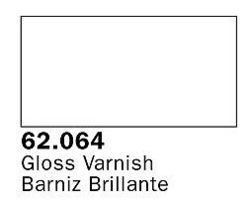 Vallejo Gloss Varnish Premium (60ml Bottle) Hobby and Model Acrylic Paint #62064