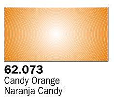 Vallejo Candy Orange Premium (60ml Bottle) Hobby and Model Acrylic Paint #62073